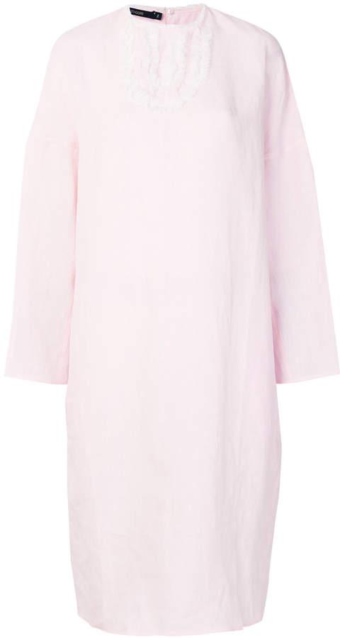 Sofie D'hoore ruffle placket dress