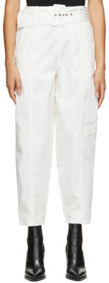 See by Chloe White Cocoon Trousers