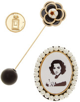 Cara Accessories Vintage Pin - Set of 3