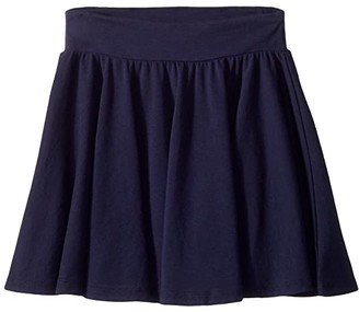 Splendid Littles Always Twirly Skirt (Big Kids) (Navy) Girl's Skirt