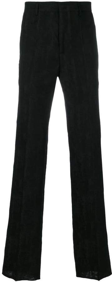Givenchy jacquard textured trousers