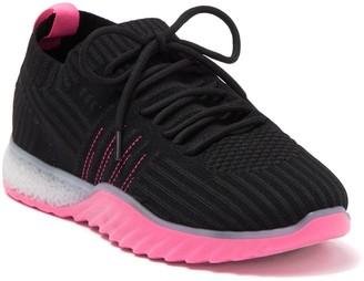 Danskin Positive Neon Sock Knit Sneaker