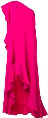 Givenchy ruffled asymmetric dress