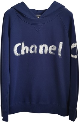 Chanel Blue Cotton Knitwear