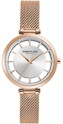 Kenneth Cole KC50796004 Transparency Ladies Rose Gold