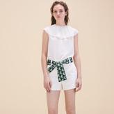 Maje Shorts with jacquard belt