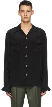 Winnie New York Black Silk Shirt