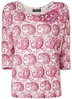 Twin-Set paisley print sweater