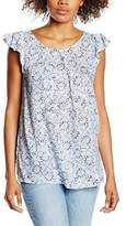 Benetton Women's Printed Sleeveless Blouse