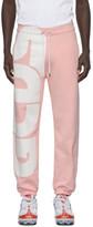 GCDS Pink Macro Logo Lounge Pants