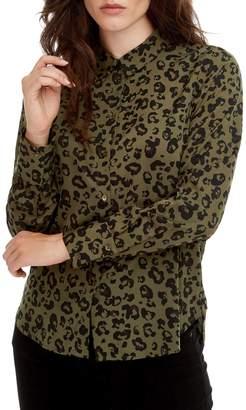 Vero Moda Nicky Animal-Print Shirt