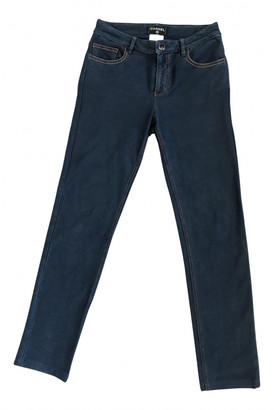 Chanel Blue Cotton - elasthane Jeans