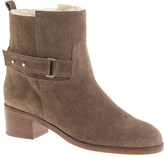 J.Crew Parker shearling-lined suede ankle boots