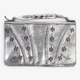 Calleen Cordero Rena Clutch Wallet Silver