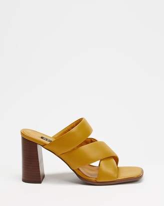 Senso Women's Orange Heeled Sandals - Verra - Size One Size, 37 at The Iconic