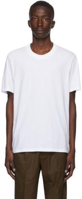 Jil Sander White Crewneck T-Shirt
