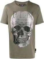 Philipp Plein Platinum Skull T-shirt