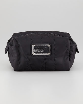 Marc by Marc Jacobs Pretty Nylon Small Cosmetic Case, Black