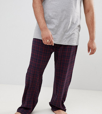 French Connection PLUS Flannel Check Lounge Pants