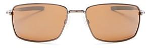 Oakley Men's Polarized Square Sunglasses, 60mm