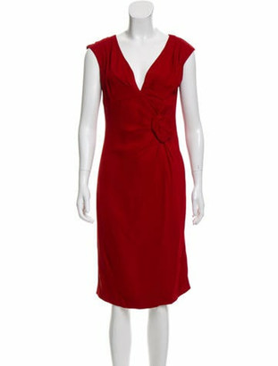 Valentino Sleeveless Midi Dress w/ Tags