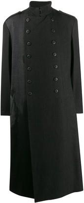 Yohji Yamamoto Double-Breasted Coat
