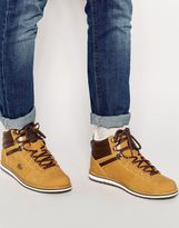 Lacoste Jarmund Shearling Look Boots - Brown