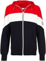 Moncler striped zipped jacket