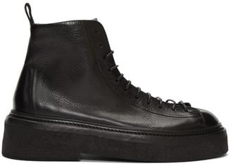 Marsèll Black Parruccona Anfibio Pedula Boots