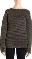 Alexander Wang Acid Wash Boatneck Sweater