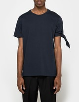 J.W.Anderson Single Knot T-Shirt in Navy