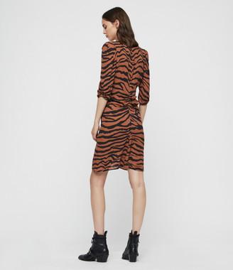 AllSaints Josephine Zephyr Dress