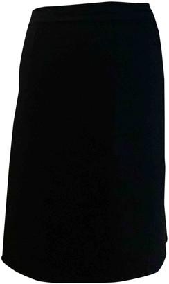 Christian Dior Black Cashmere Skirt for Women Vintage