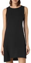 AllSaints Tara Asymmetric Shift Dress