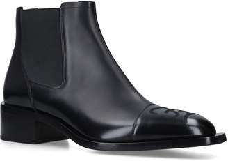 Leather Karl Chelsea Boots