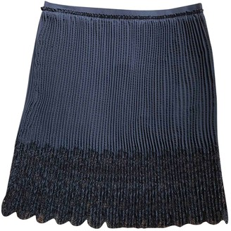 Emilio Pucci Black Silk Skirt for Women