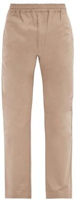 The Row Josh Cotton-poplin Track Pants - Light Brown