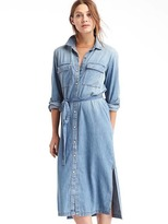 Gap 1969 Long Denim Shirtdress