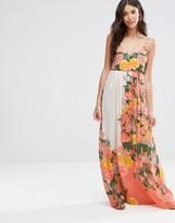 Vila Botanical Printed Maxi Dress