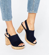 Asos Tammy Wide Fit Heeled Sandals