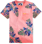 Superdry Men's California Tropical-Print Pocket T-Shirt