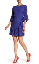 Bobeau B Collection By Astrid Ruffle Apron Dress