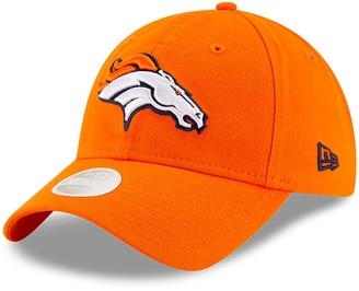 New Era Women's Orange Denver Broncos Core Classic Primary 9TWENTY Adjustable Hat