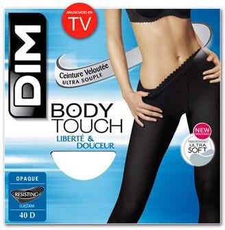 Dim Women's Bodytouch Opaque Tights Black (Noir) 4 (Manufacturer size: 4)