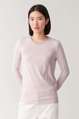 Cos STRIPED ORGANIC COTTON TOP