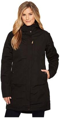 Fjallraven Kiruna Padded Parka (Black) Women's Coat