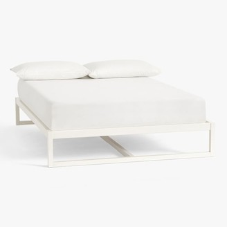 Pottery Barn Teen Park Platform Bed - Simply White