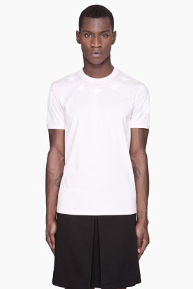 Givenchy Pink stars #74 jersey t-shirt