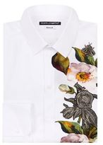 Dolce & Gabbana Embellished Flower Shirt
