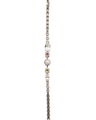 Sorrelli Harttley Tennis Bracelet - Antique Silver Finish